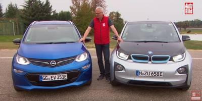 Opel Ampera-e vs BMW i3